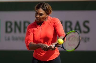SERENA WILLIAMS Practises at Roland Garros French Open Tournament in Paris 05/21/2019 - HawtCelebs