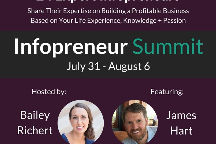 Infopreneur Summit Bailey Richert