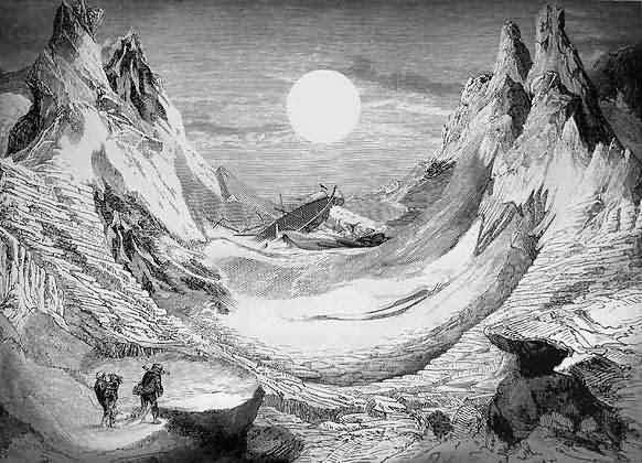 The Mysterious Island optical illusion