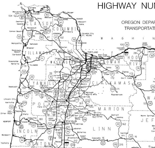 Utility Disruptions Hayden Island Net - Map of oregon highways