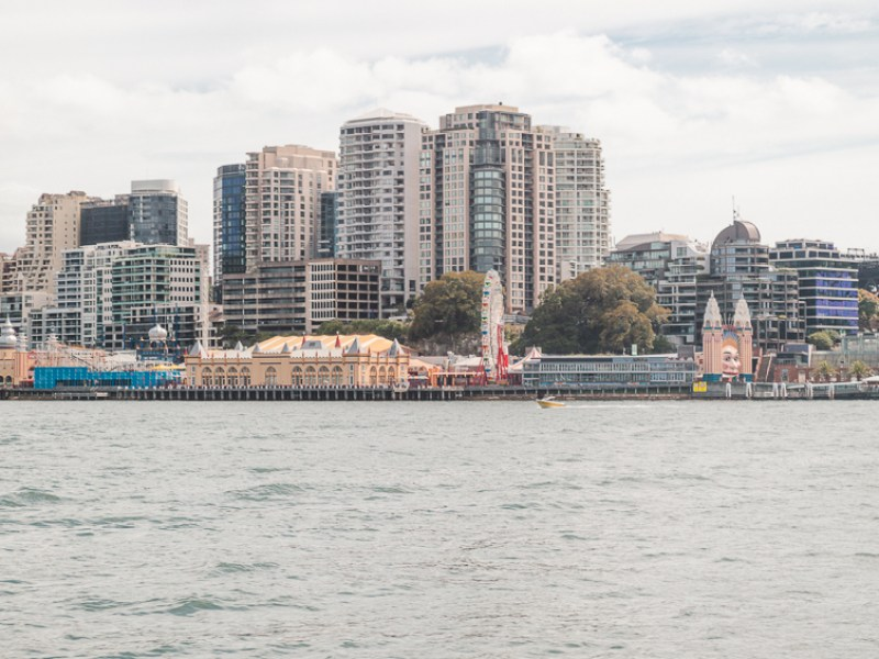 Luna Park Sydney for New Year's Eve
