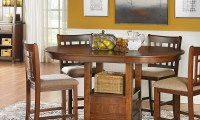 Mission Oak Counter Height Dining Set | Haynes Furniture ...