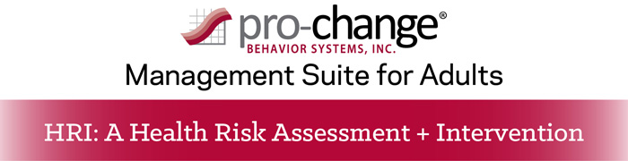Pro-Change LifeStyle Suite for Adult - Health Risk Assessment and
