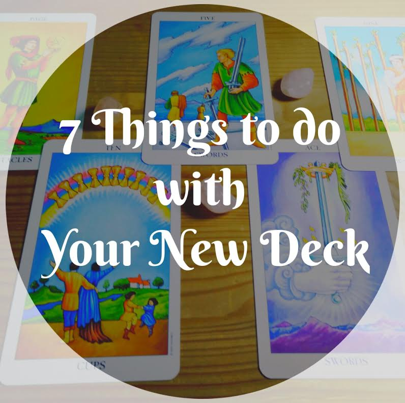 Tarot Blog Hop: Things to Do with Your New Deck