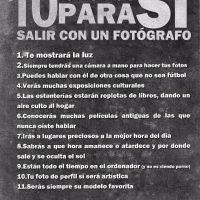 10 razones para Si salir con un fotógrafo
