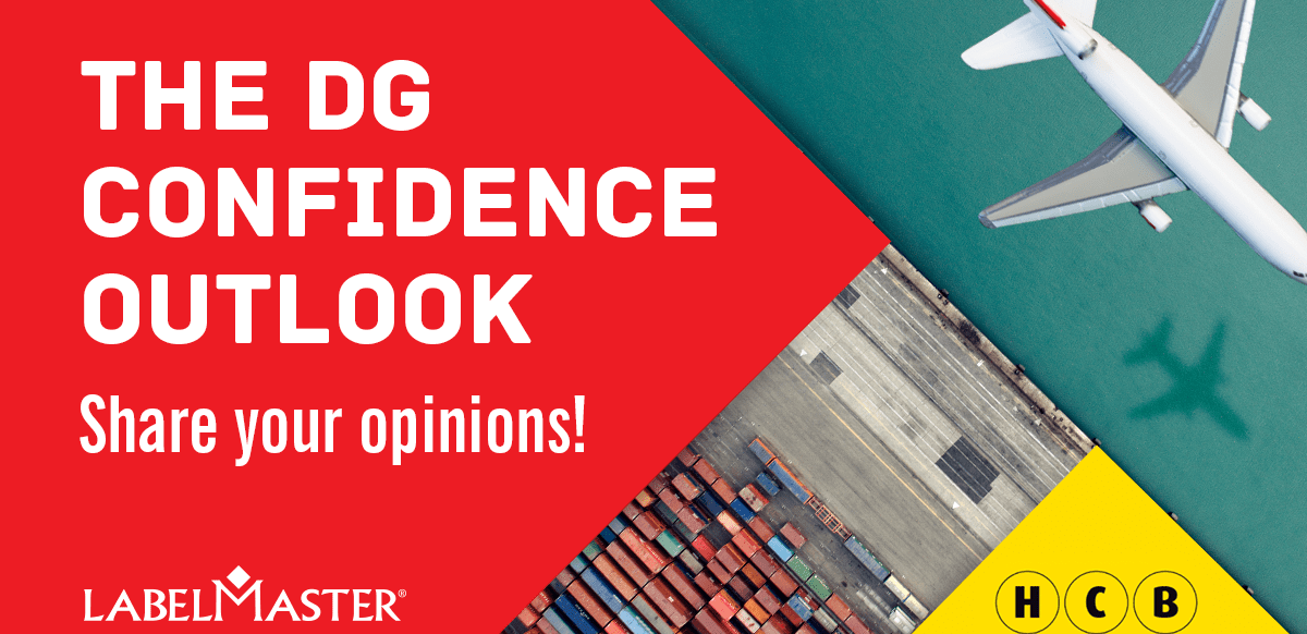 The first ever global dangerous goods compliance survey