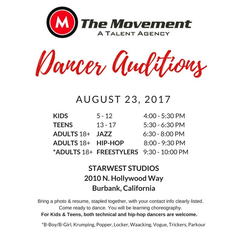 The Movement Talent Agency - Hollywood Connection