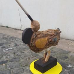 la danse de l'oiseau