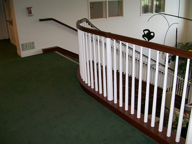 iron balusters and railings