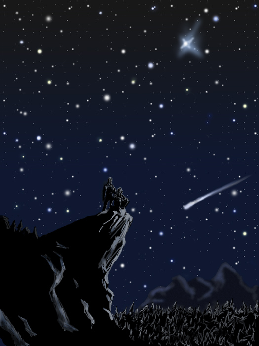 Anime Wallpaper Girl Looking At Stars Stargaze From The Summit Of Mt Mitchell Sept 8 High