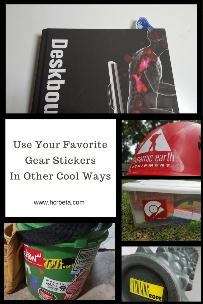 Use Your Favorite Gear Stickers In Other Cool Ways
