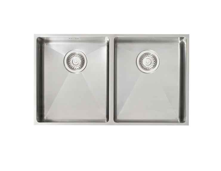Astracast Onyx 4070 20 Bowl Stainless Steel Flush Inset