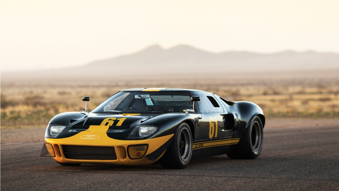 Car In Desert Hd Wallpaper 1966 Ford Gt40 4k Wallpaper Hd Car Wallpapers Id 6794
