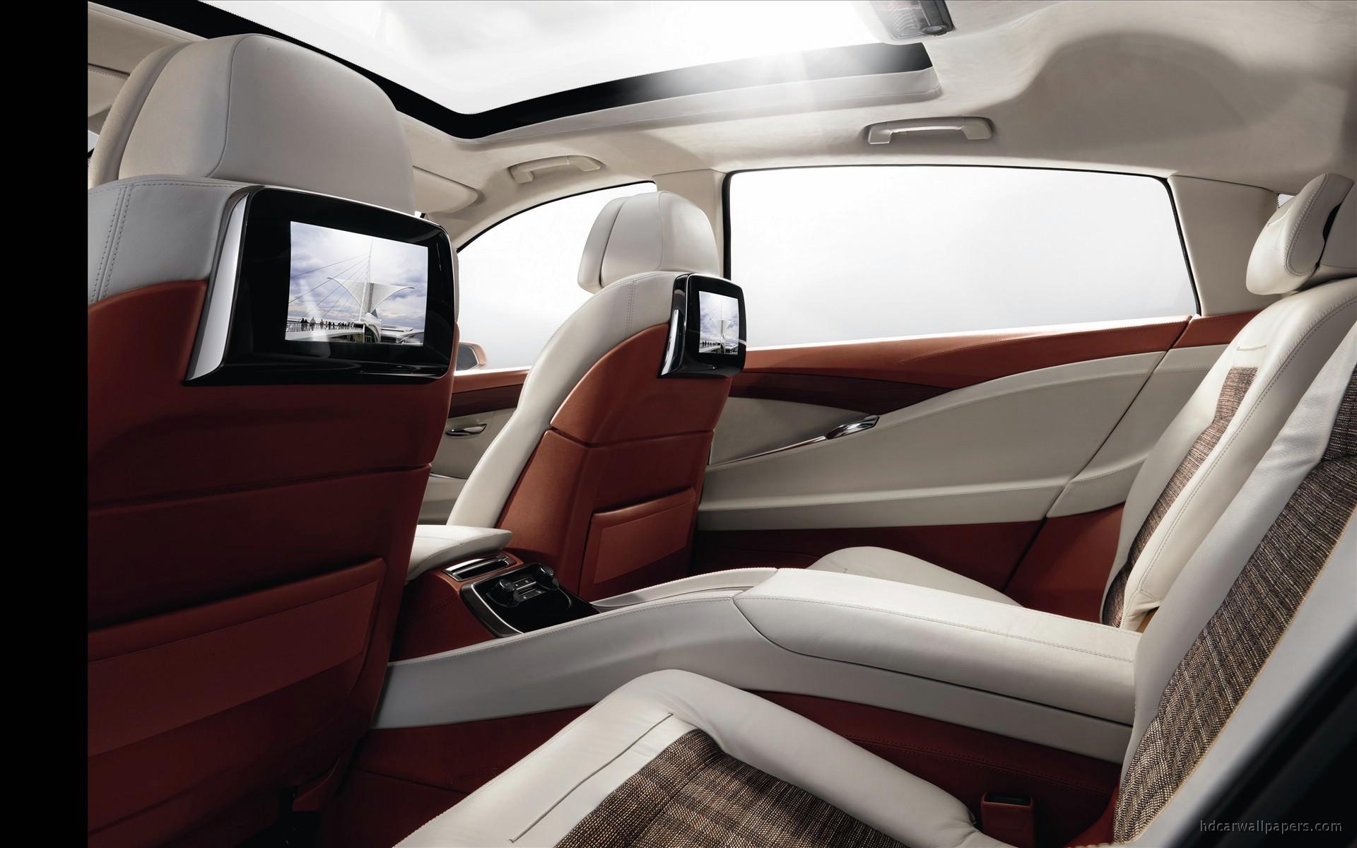 Tesla Car Iphone Wallpaper 2009 Bmw Concept 5 Series Gran Turismo Interior Wallpaper