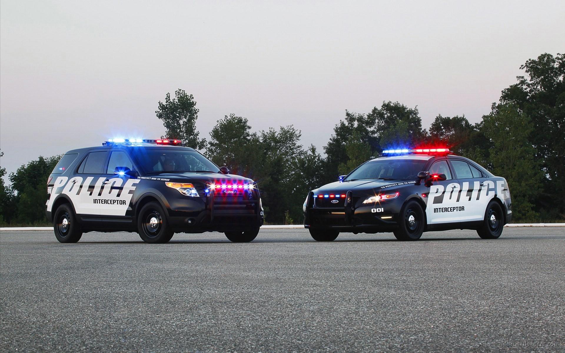 Police Car 4k Wallpaper 2011 Ford Police Interceptor Suv Wallpaper Hd Car