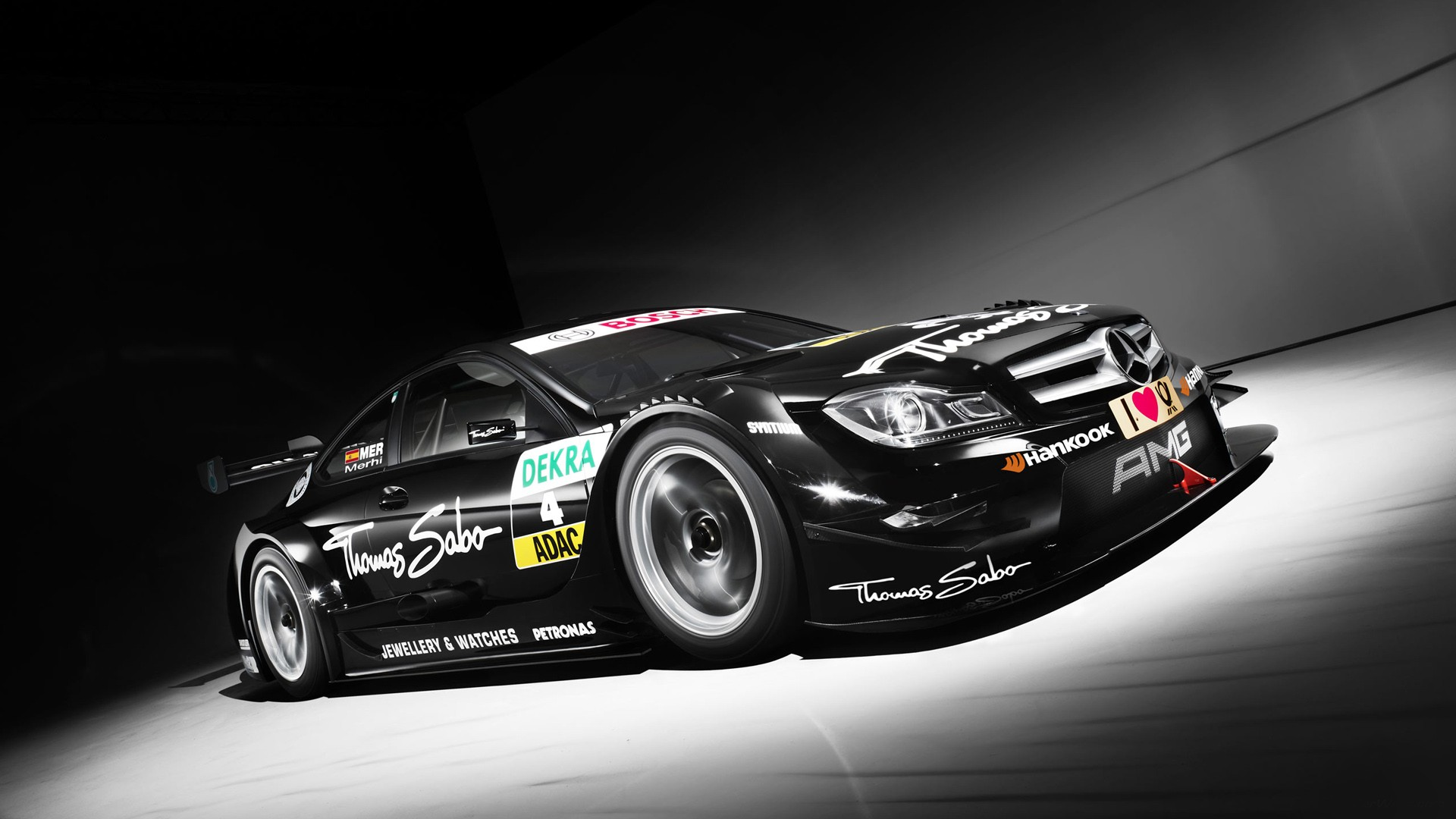 3d Wallpapers For Nokia E63 2013 Mercedes Amg C Coupe Dtm Wallpaper In 1920x1080