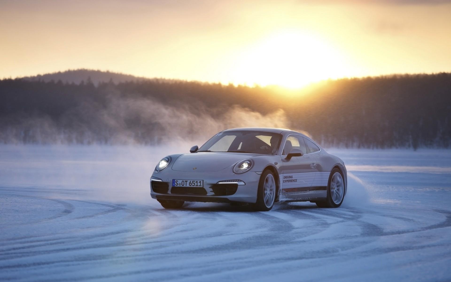 Mclaren P1 Wallpaper Hd 2013 Porsche 911 In Snow Wallpaper Hd Car Wallpapers