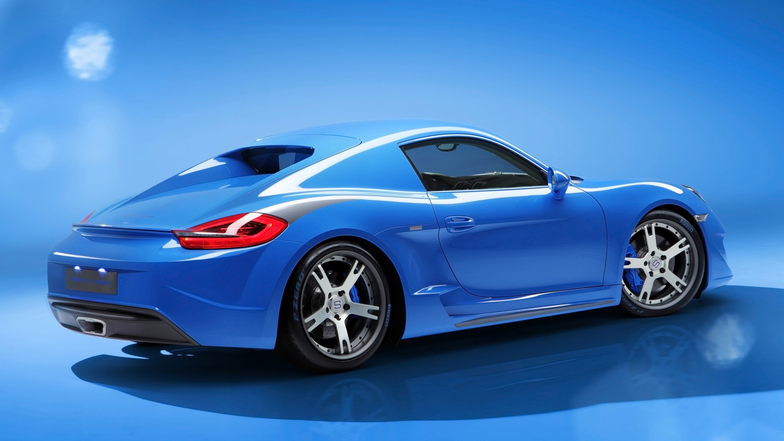 Land Rover Car Hd Wallpaper Download 2014 Studiotorino Porsche Cayman Moncenisio Blue 3