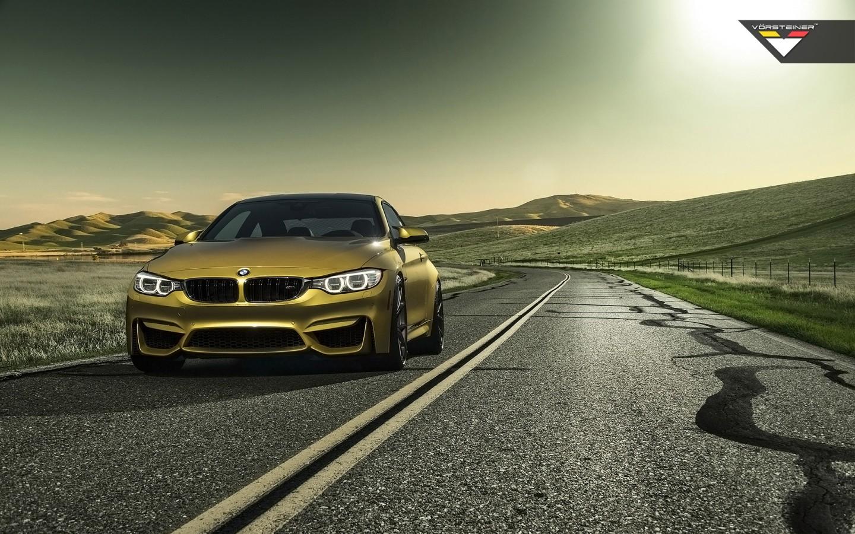 Super Cars Wallpapers Hd For Desktop 2014 Vorsteiner Bmw M4 Austin Yellow Wallpaper Hd Car