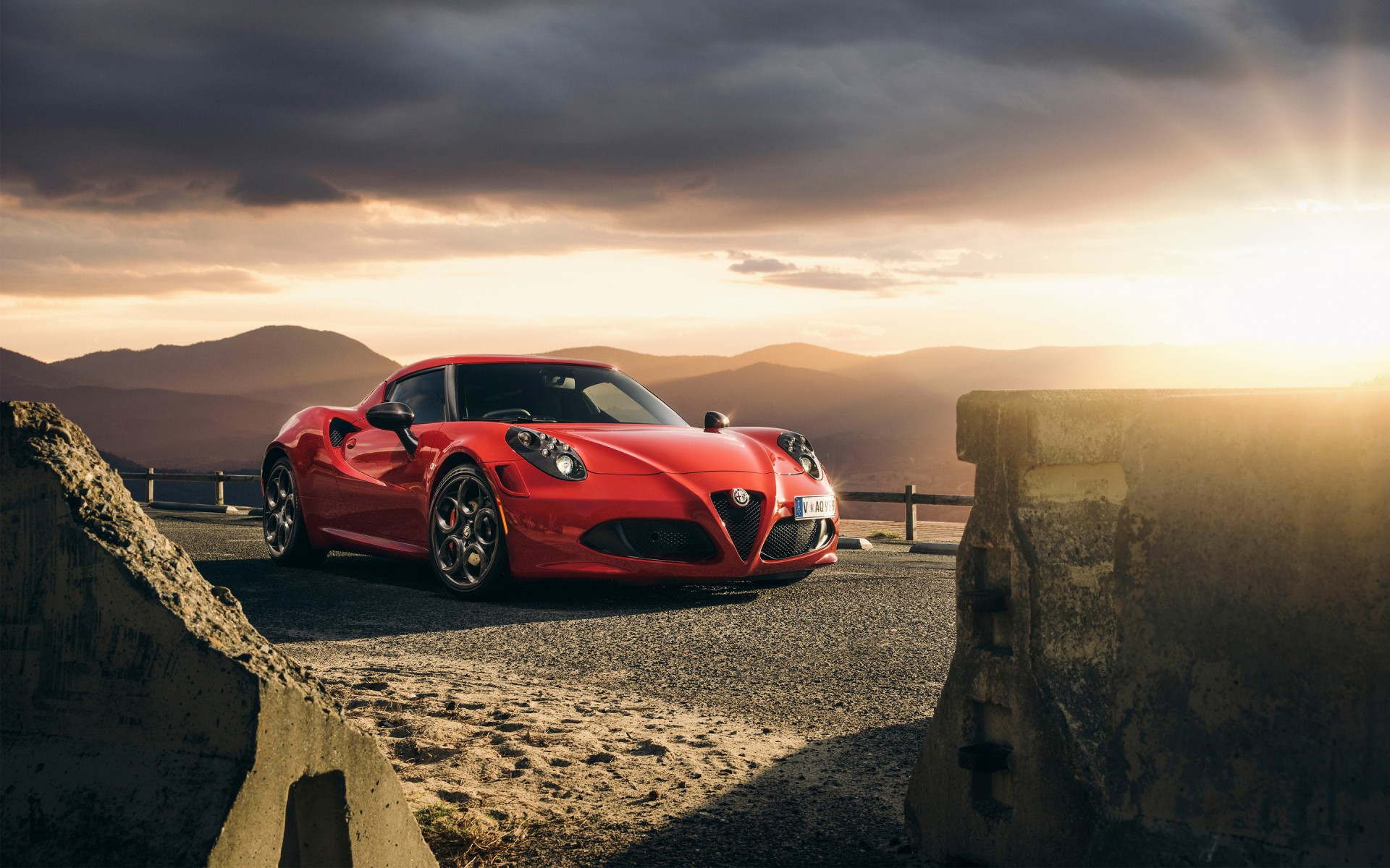 Car Wallpapers Computer Desktop 2015 Alfa Romeo 4c Launch Edition Wallpaper Hd Car