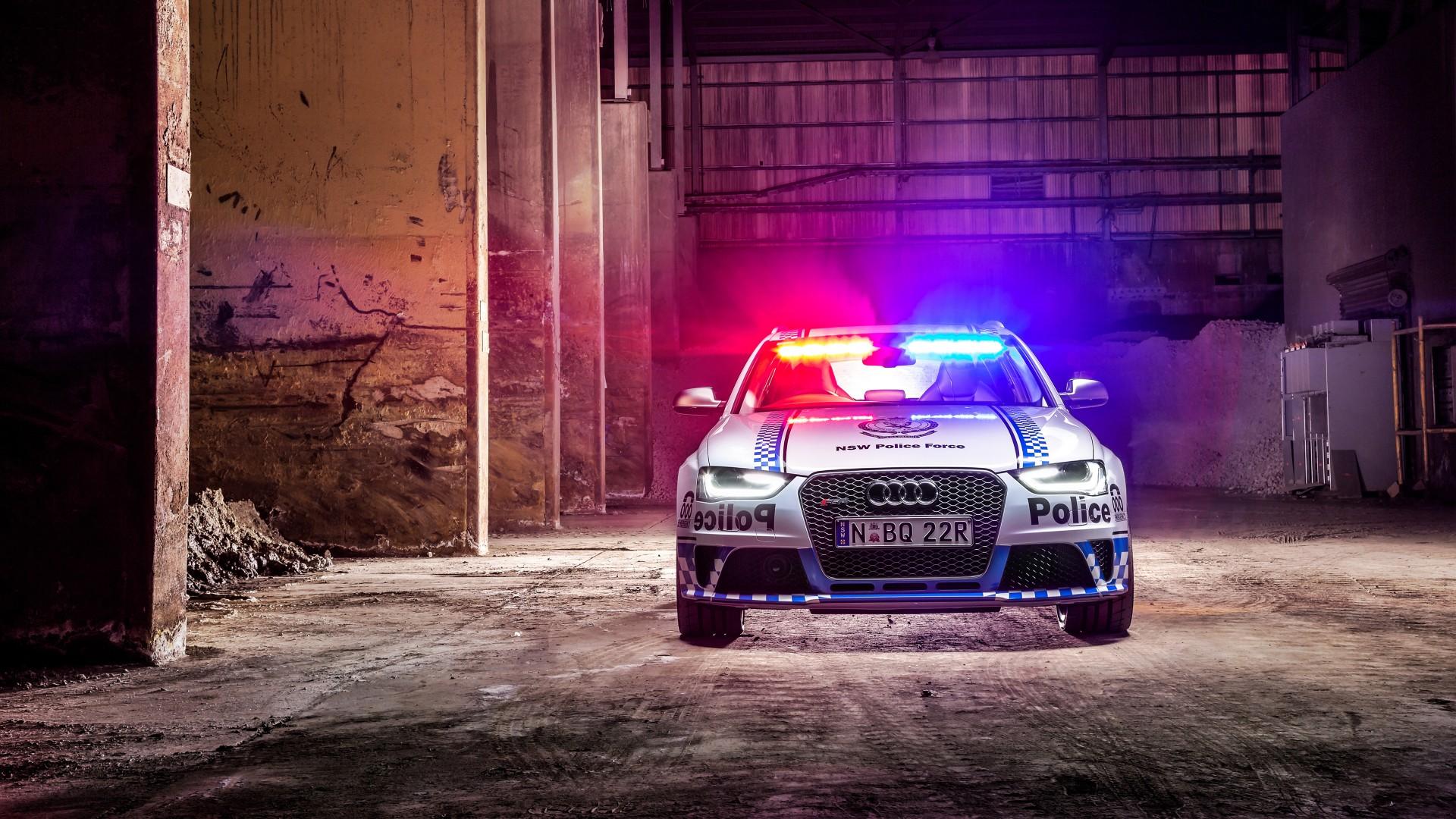 Badass Iphone Wallpaper 2015 Audi Rs4 Avant Police Wallpaper Hd Car Wallpapers