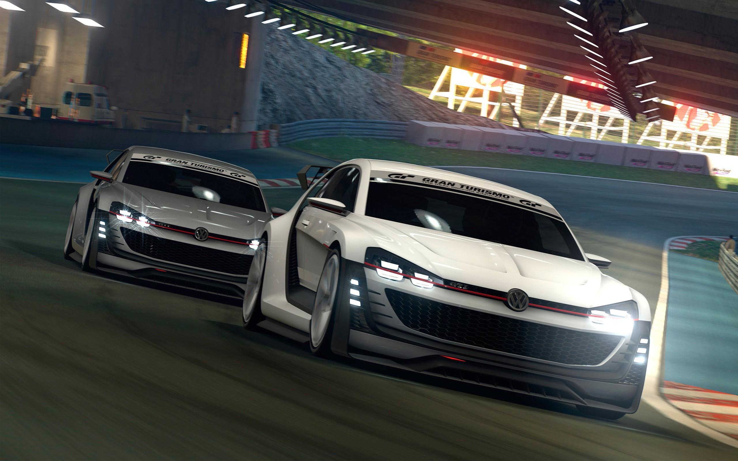 Vw Beetle Iphone Wallpaper 2015 Volkswagen Gti Supersport Vision Gran Turismo Concept