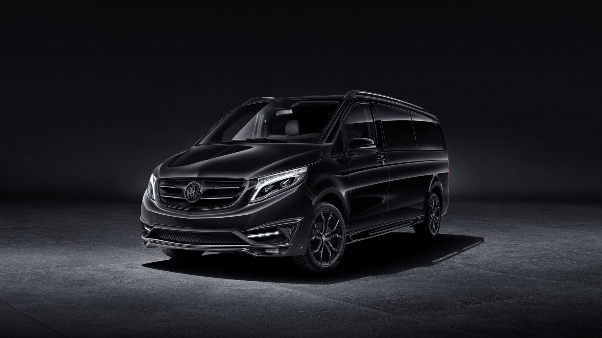 Mercedes Amg Wallpaper Iphone 2016 Larte Design Mercedes Benz V Class Black Crystal