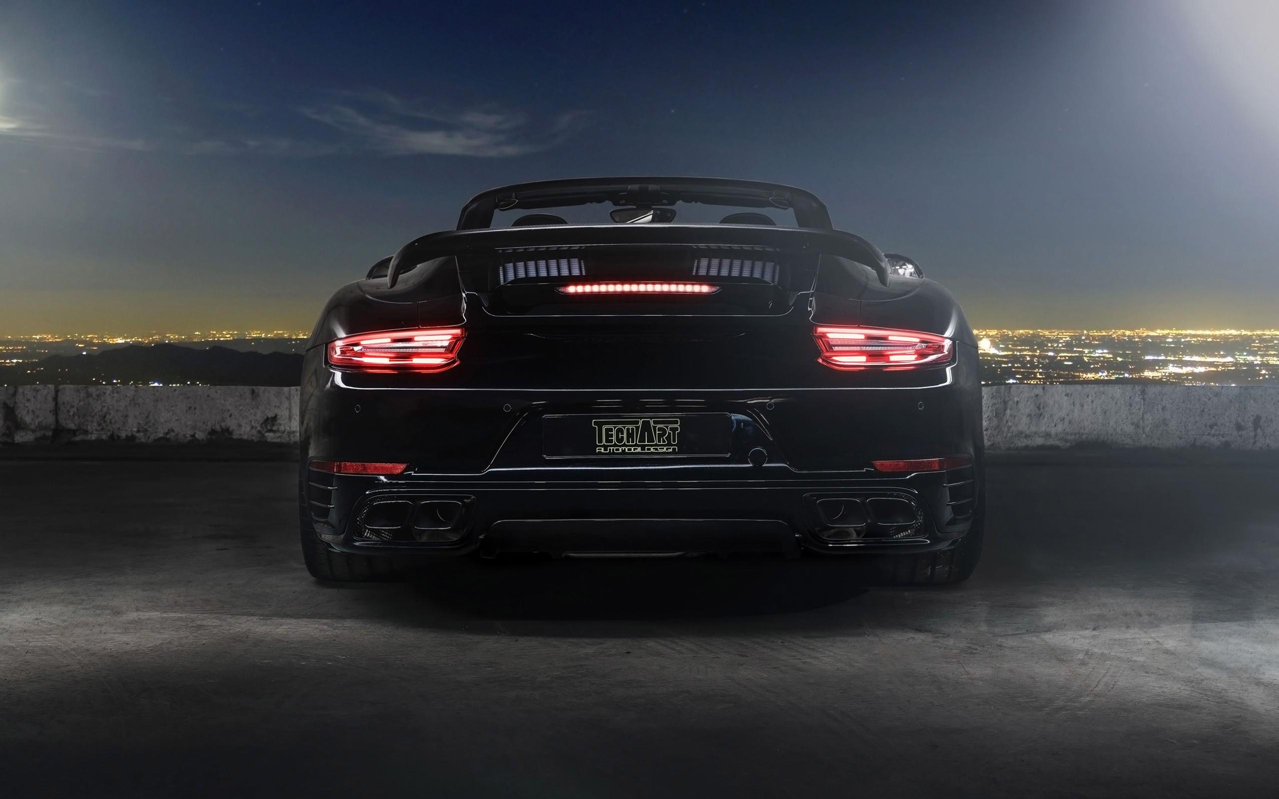 Porsche Boxster Wallpaper Hd 2016 Techart Porsche 911 Convertible 3 Wallpaper Hd Car