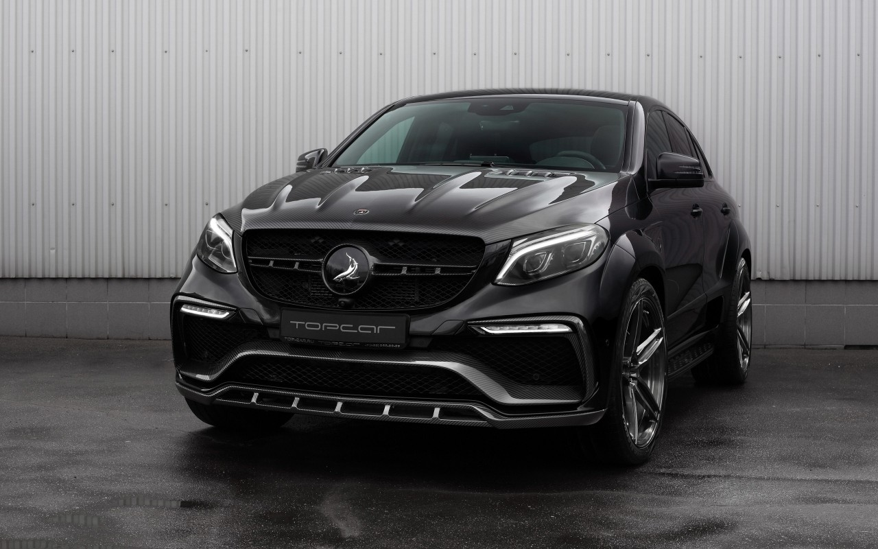 Luxury Cars Wallpapers For Desktop 2016 Topcar Mercedes Benz Gle Inferno Black Carbon