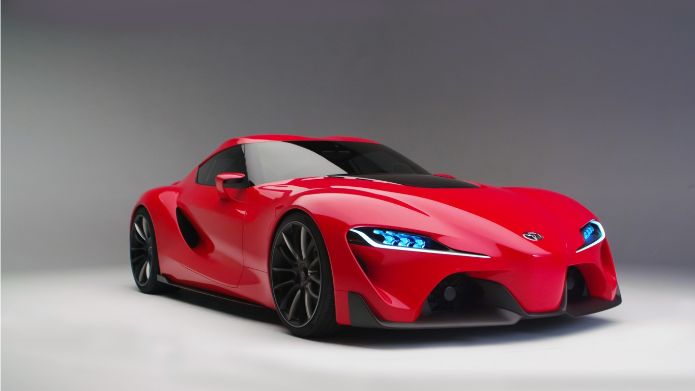 Red Car Wallpaper Download 2016 Toyota Ft1 Concept Wallpaper Hd Car Wallpapers Id