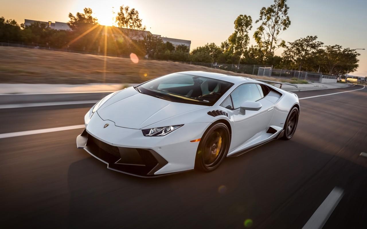 Lamborghini Car Wallpaper Desktop 2016 Vorsteiner Lamborghini Huracan Novara White Wallpaper