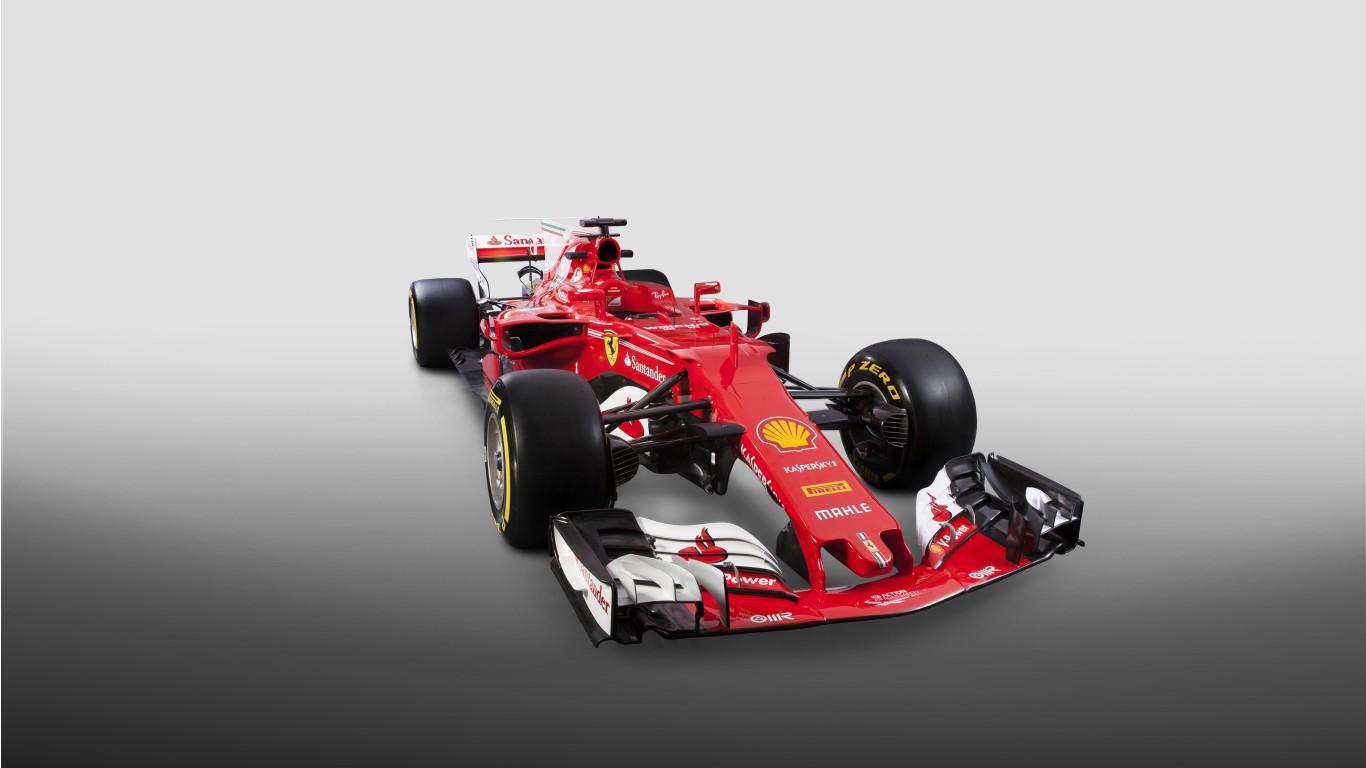 Mercedes Car Wallpapers For Windows 7 2017 Ferrari Sf70h Formula One Car Wallpaper Hd Car