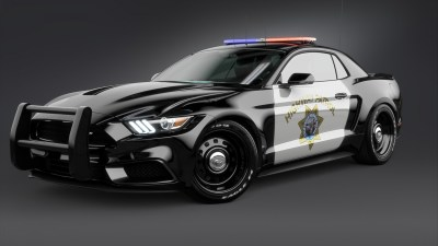 2017 Ford Mustang NotchBack Design Police 2 Wallpaper | HD Car Wallpapers | ID #7633