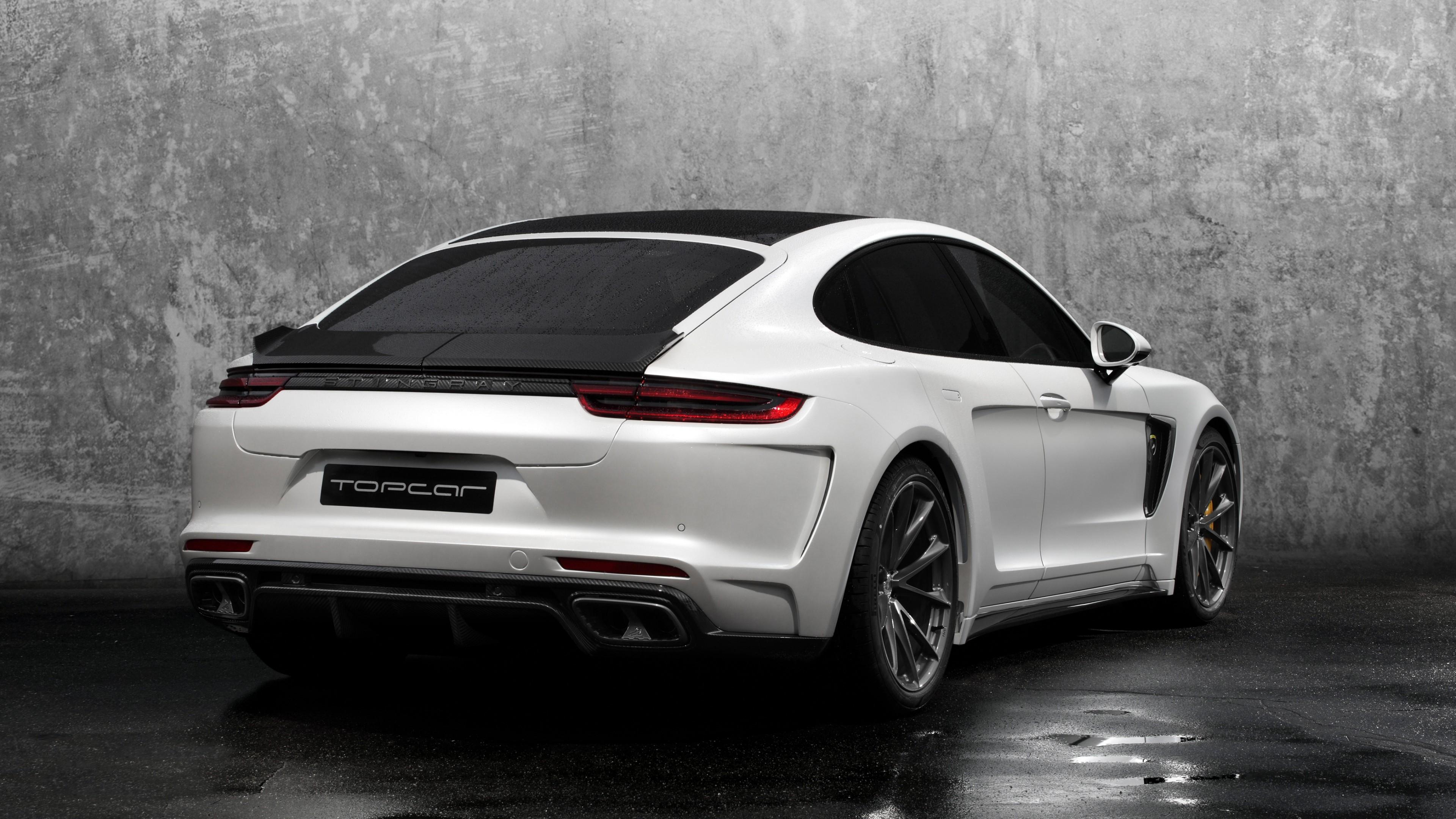 Carbon Wallpaper Iphone X 2017 Topcar Porsche Panamera Stingray Gtr 2 Wallpaper Hd