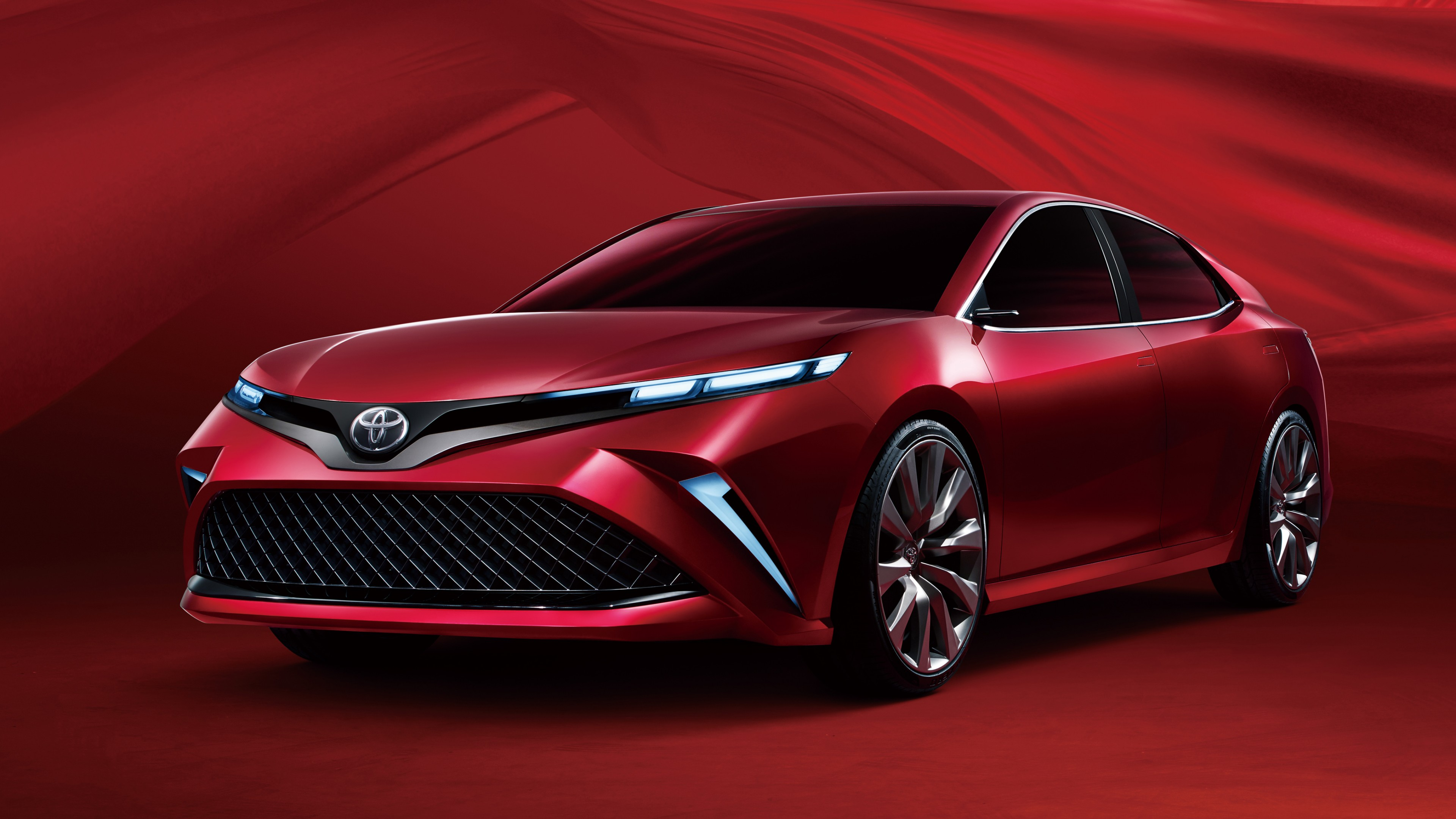 Super Cars Wallpapers Free Download 2017 Toyota Camry 4k Wallpaper Hd Car Wallpapers Id 7747