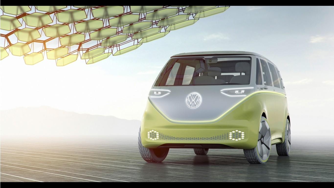 Bmw Wallpaper Iphone X 2017 Volkswagen Id Buzz Concept 2 Wallpaper Hd Car