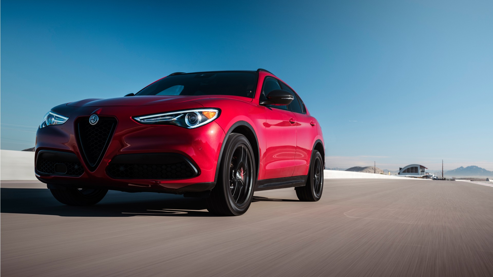 Ferrari Car Wallpaper Hd Download 2018 Alfa Romeo Stelvio Nero Edizione Wallpaper Hd Car
