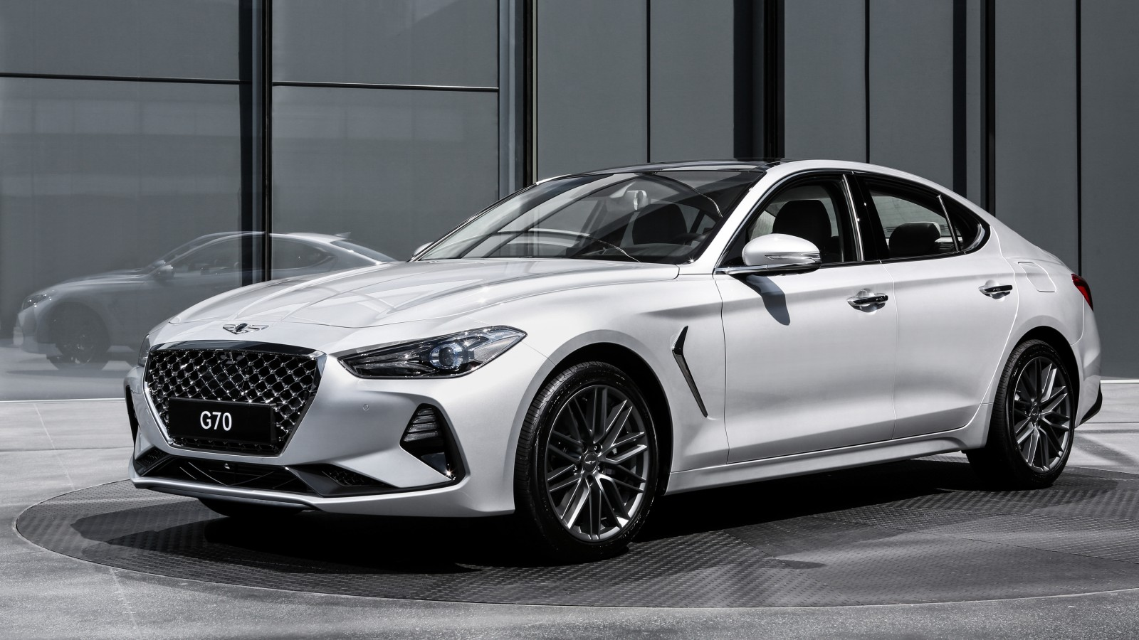 Bmw White Cars Wallpapers 2018 Genesis G70 4k Wallpaper Hd Car Wallpapers Id 8661