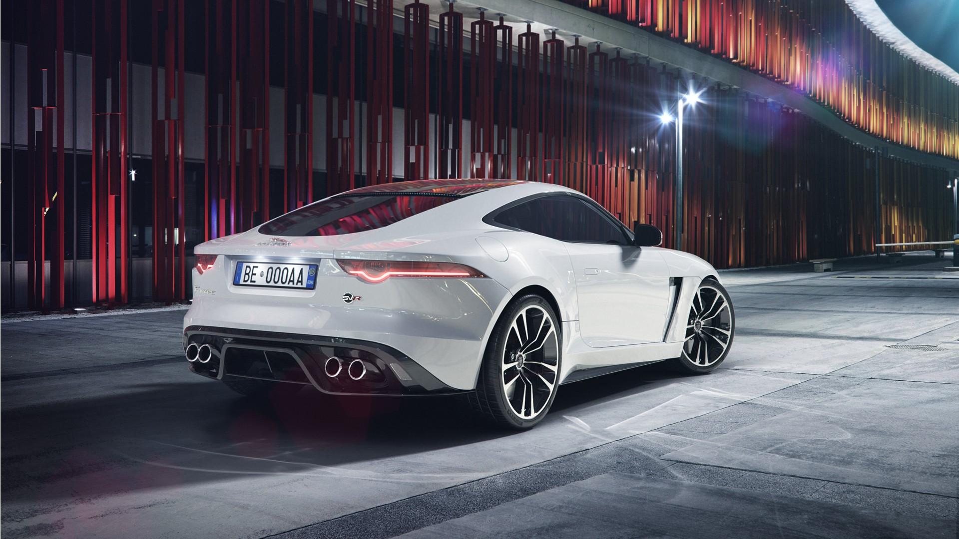 White Jaguar Car Wallpaper Hd 2018 Jaguar F Type Svr Coupe Wallpaper Hd Car Wallpapers