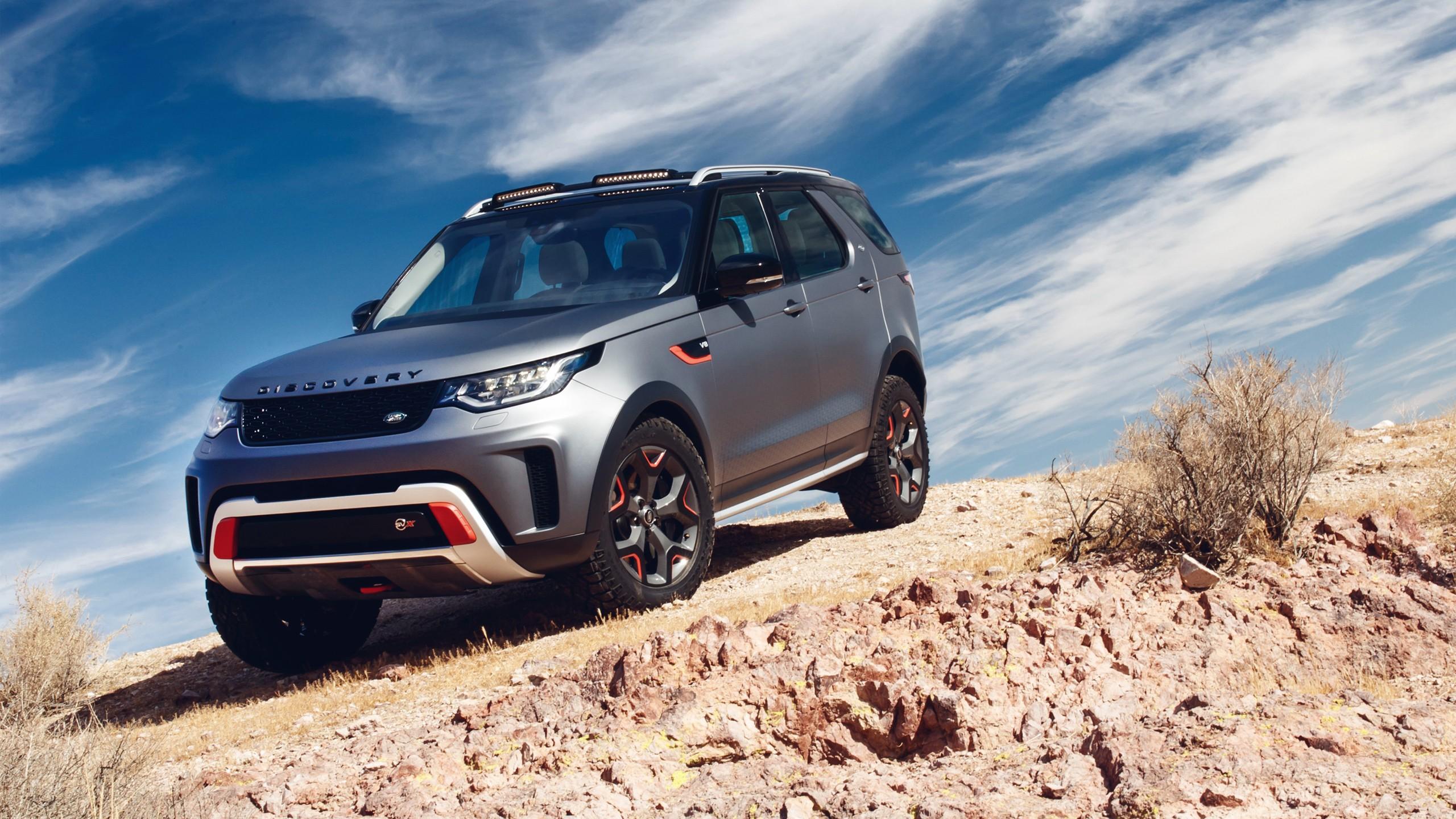 Range Rover Car Hd Wallpaper Download 2018 Land Rover Discovery Svx 2 Wallpaper Hd Car