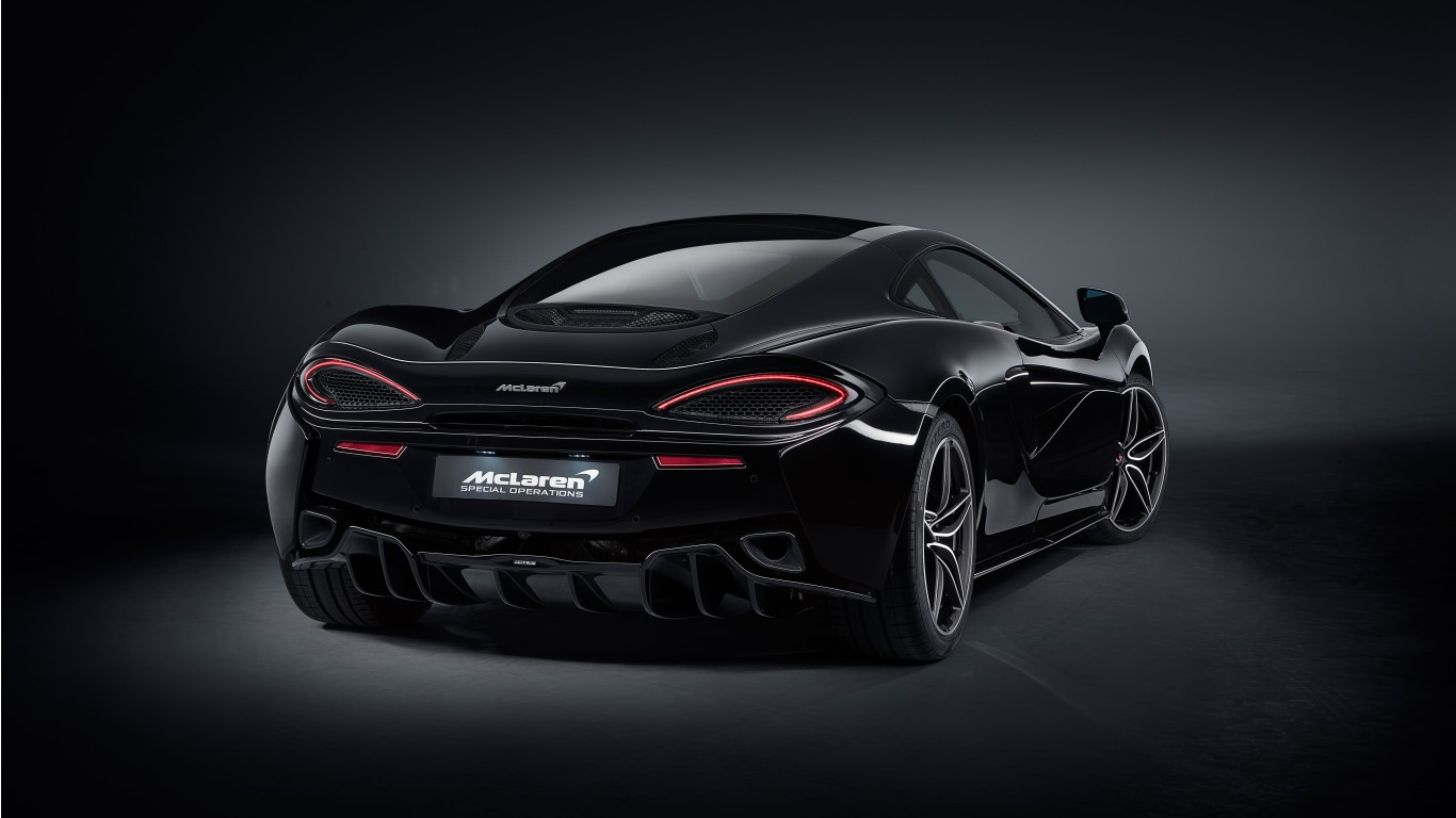 Black Jaguar Car Hd Wallpapers 2018 Mso Mclaren 570gt Black Collection 4 Wallpaper Hd