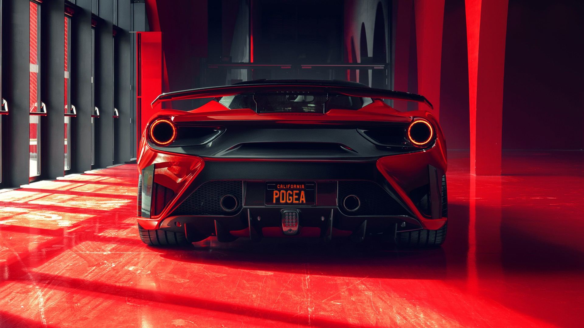 Audi Car Full Hd Wallpaper 2018 Pogea Racing Fplus Corsa Ferrari 488 Gtb 2 Wallpaper
