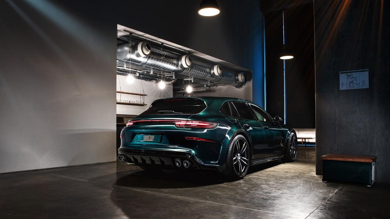Hd Hybrid Car Wallpaper 2018 Techart Porsche Panamera Sport Turismo Grand Gt 2