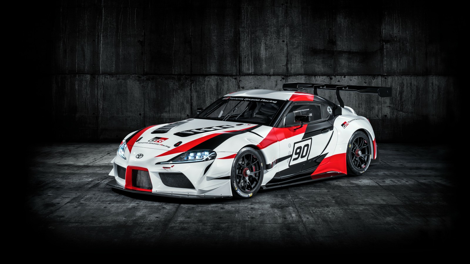 Hd Car Wallpapers For Android Tablets 2018 Toyota Gr Supra Racing Concept 4k 3 Wallpaper Hd