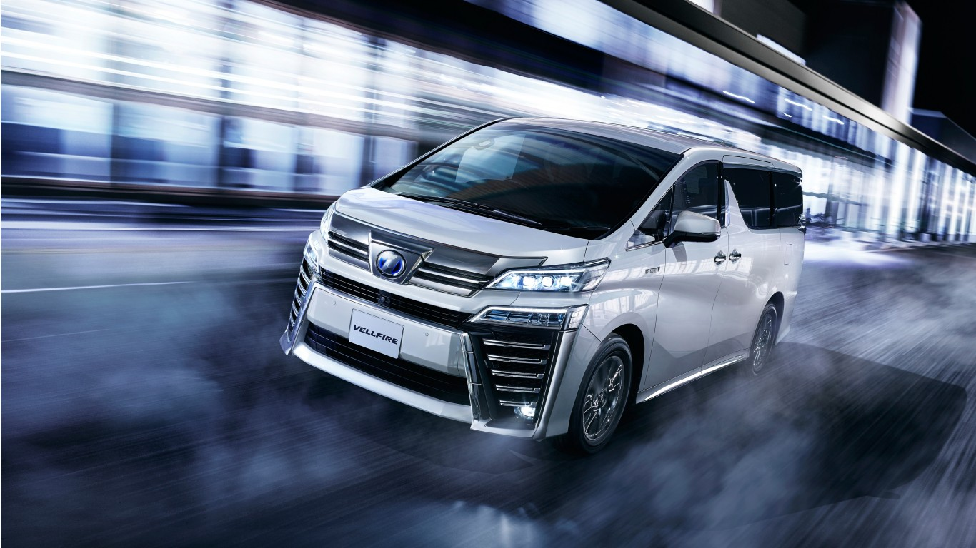 Car Hd Wallpaper For Iphone 2018 Toyota Vellfire Executive Lounge Z 4k Wallpaper Hd