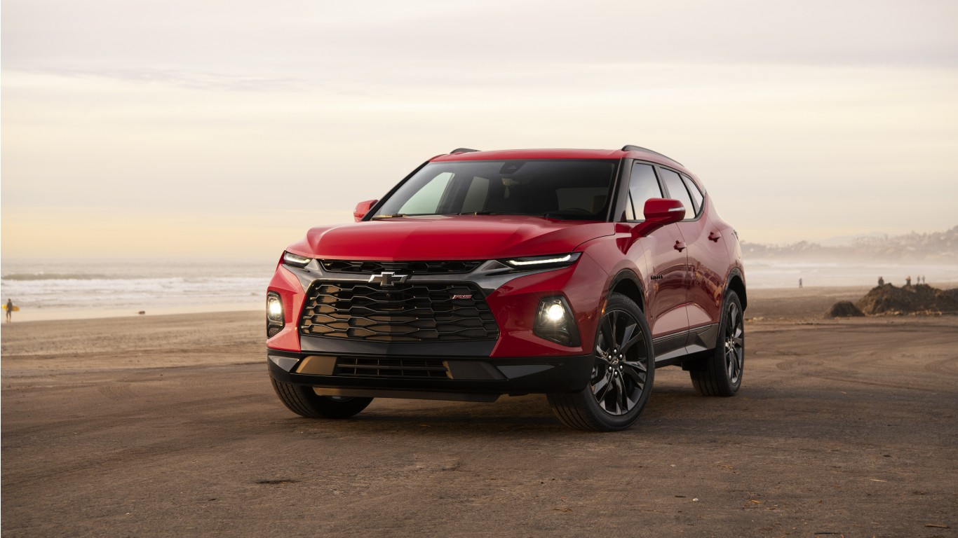 Iphone Muscle Car Wallpapers 2019 Chevrolet Blazer Rs 4k 5k Wallpaper Hd Car