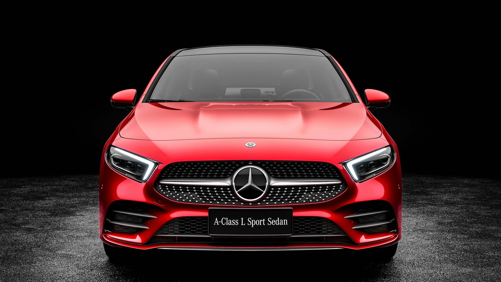 Www Hummer Limousine Car Wallpapers Com 2019 Mercedes Benz A200 L Sport Sedan 4k 3 Wallpaper Hd