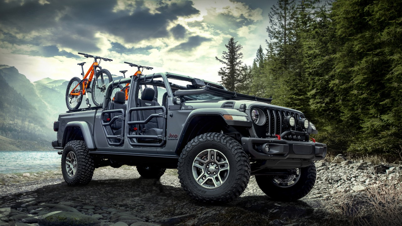 Hd Wallpaper Car Widescreen 2020 Mopar Jeep Gladiator Rubicon Wallpaper Hd Car