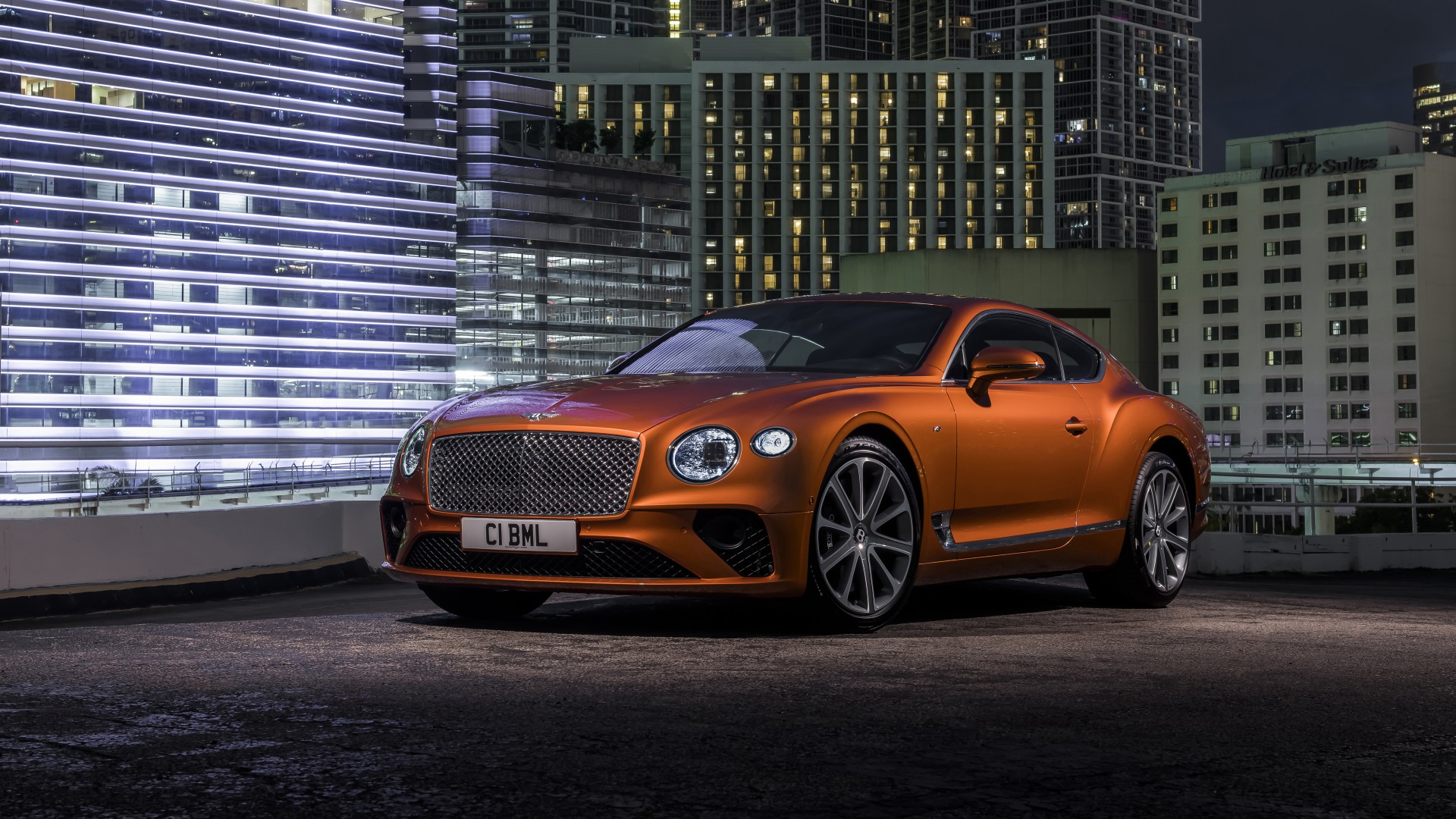 Hd Wallpaper Car Widescreen Bentley Continental Gt V8 2019 4k Wallpaper Hd Car