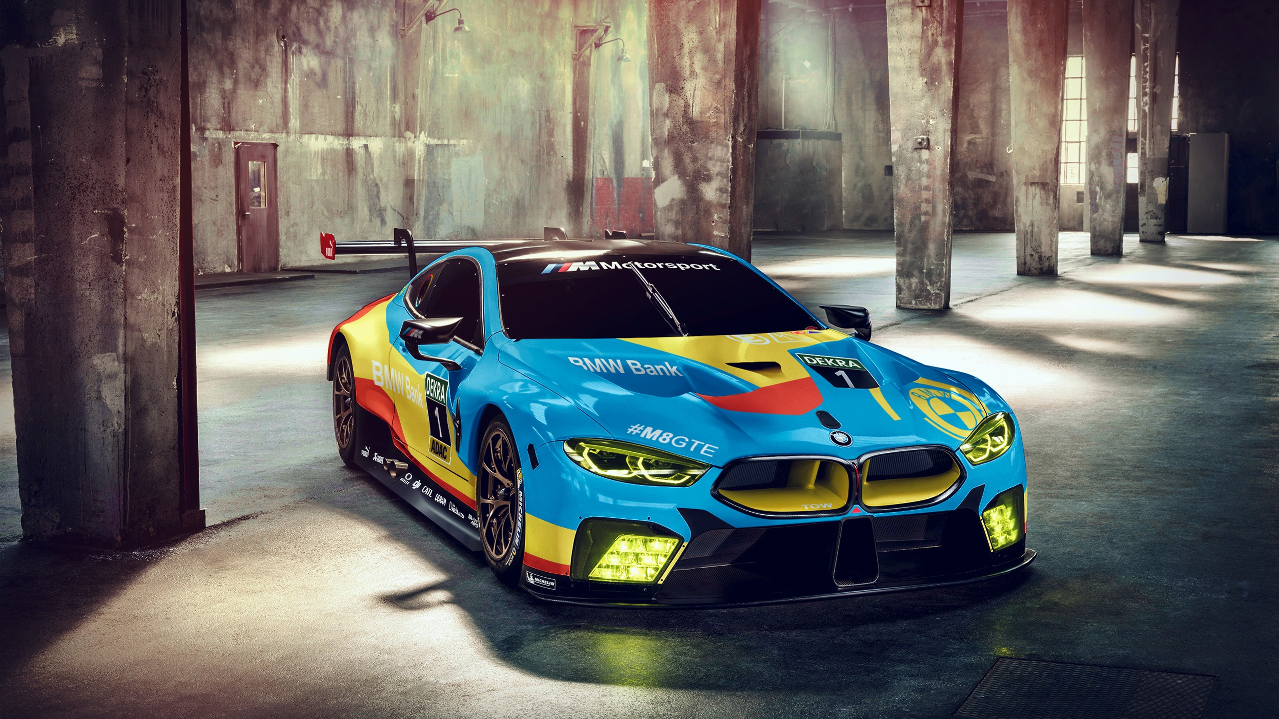 Widescreen Car Wallpapers Hd Bmw M8 Gte 2018 Wallpaper Hd Car Wallpapers Id 9270